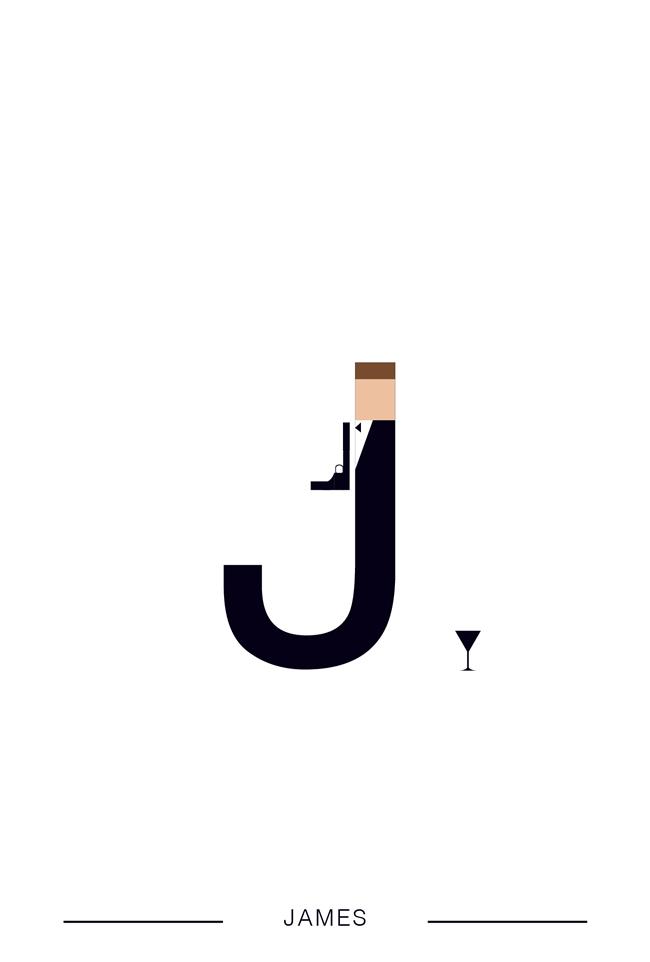 alphabet letter K helvetica font superhero james