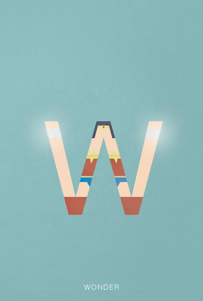 alphabet letter X helvetica font superhero