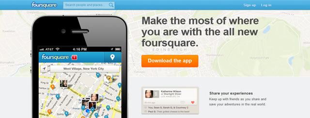 FourSquare Gamification is built around rewards and badges