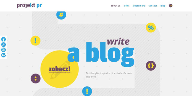 40 Fantastic Examples of Using Circles in Web Design