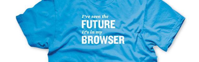 official HTML5 shirts
