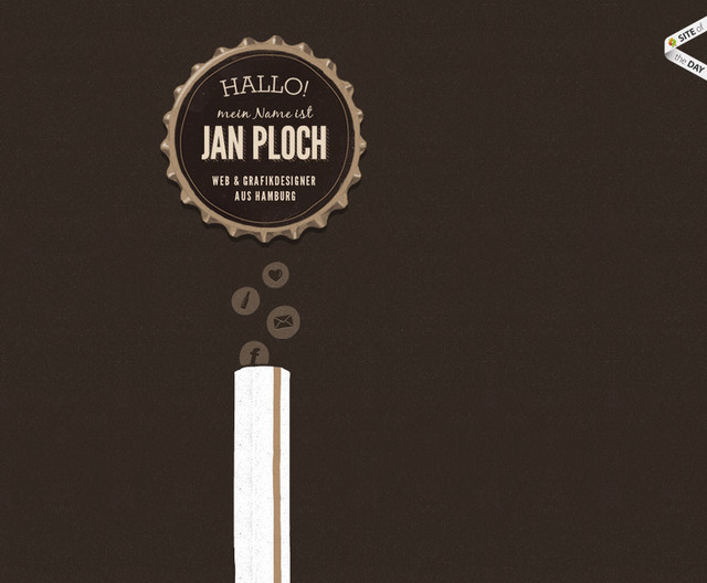 Jan Ploch parallax scrolling effect in web design