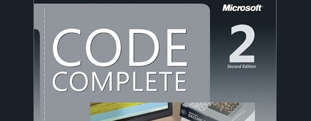 Code Complete: The Practical Handbook of Software Programming