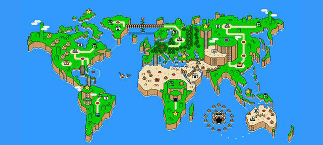 World Map world map remake