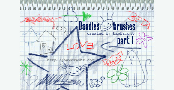 Photoshop Doodles by hawksmont scribble doodle