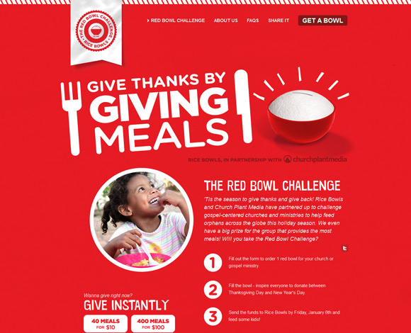 The Red Bowl Challenge has an amazing color scheme for inspiration