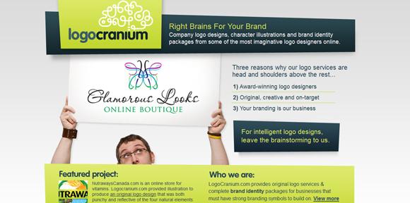 The Logo Cranium has an amazing color scheme for inspiration