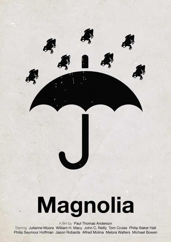 Magnolia pictogram poster inspiration movie