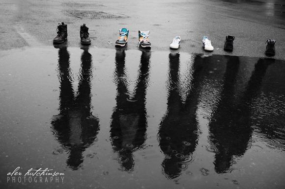 Raining Ghosts Photographer creative shot