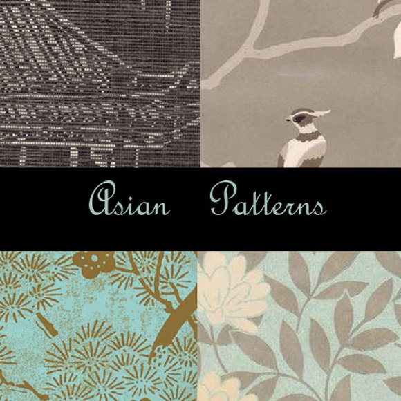 Asian free designer photoshop patterns