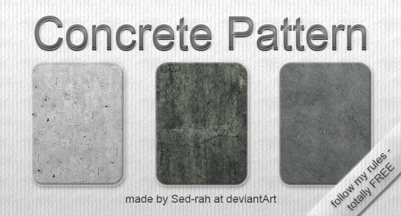 Concrete free designer photoshop patterns