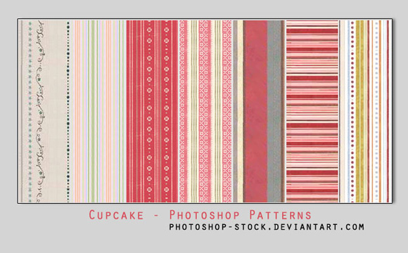 Cup Cake free designer photoshop patterns