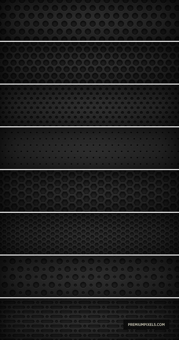 Dark Metal Grid free designer photoshop patterns