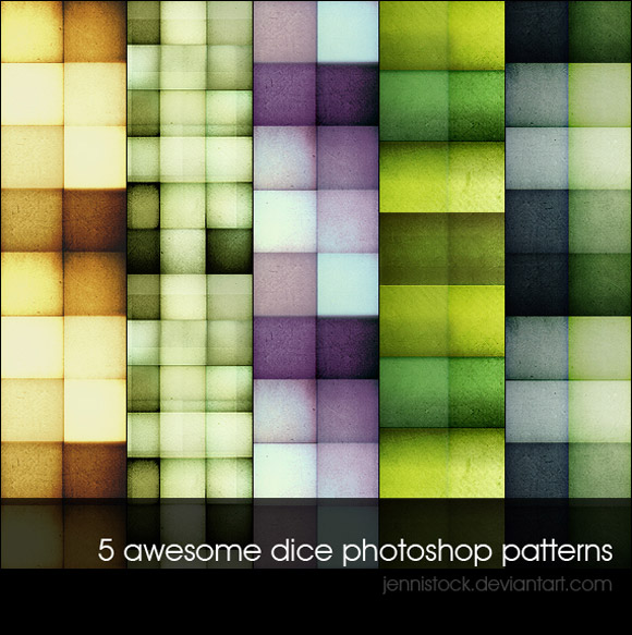 Dice free designer photoshop patterns