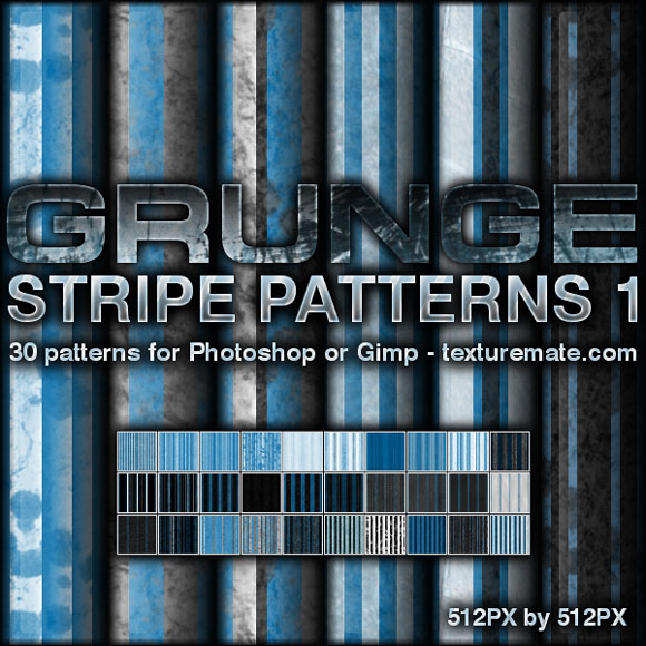 Grunge Stripe free designer photoshop patterns