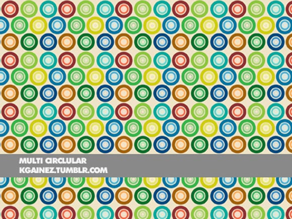 Multi Circular freebies adobe photoshop patterns