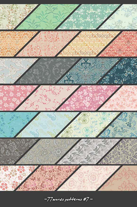 photoshop Patterns by Miss Fahrenheit