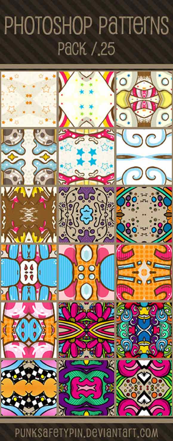 freebies adobe photoshop patterns  by punksafetypin