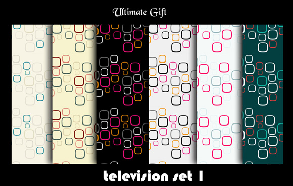 Television Set freebies adobe photoshop patterns