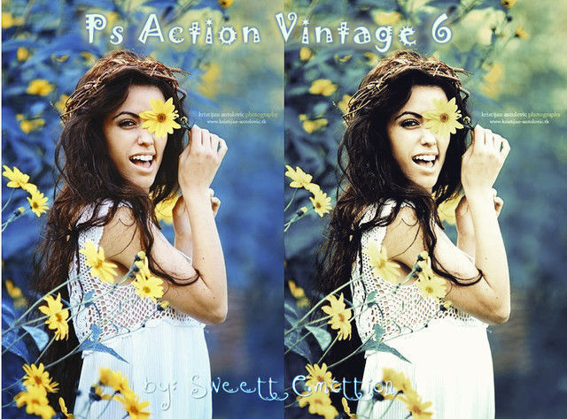 Ps Action Vintage 6 Photoshop