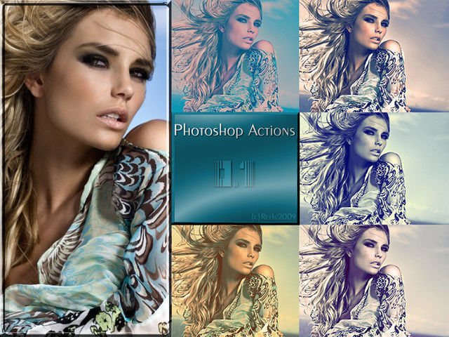 Photoshop Actions pack 1