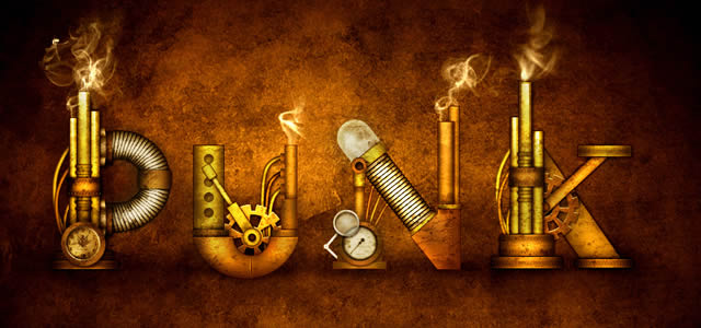 Steampunk Type Treatmentin Photoshop