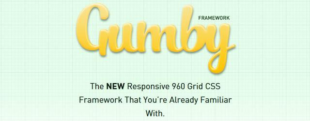 Gumby 960 Grid Responsive CSS Framework