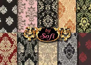 Damask Patterns free for Photoshop PAT