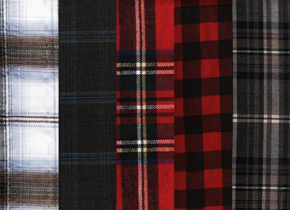 Plaid Fabrics free for Photoshop PAT