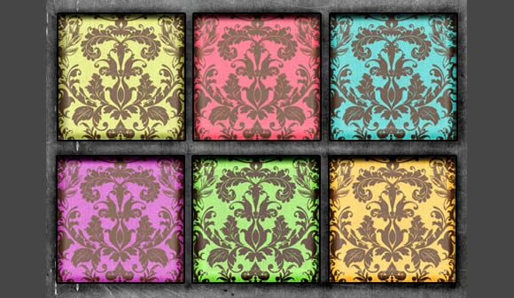 Damask Brites Patterns Photoshop Seamless