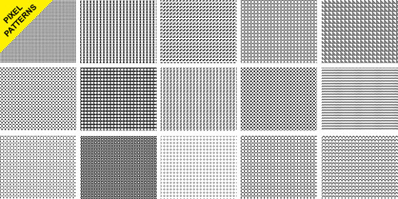 Seamless Pixel Patterns Photoshop Seamless