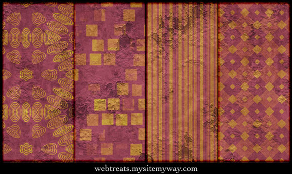 Grunge Seamless Peeling Patterns Photoshop Seamless
