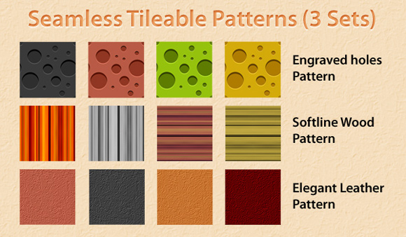 Seamless Tileable Patterns Photoshop Seamless