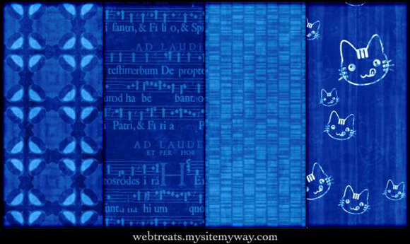 Vibrant Blue Photoshop Patterns Seamless