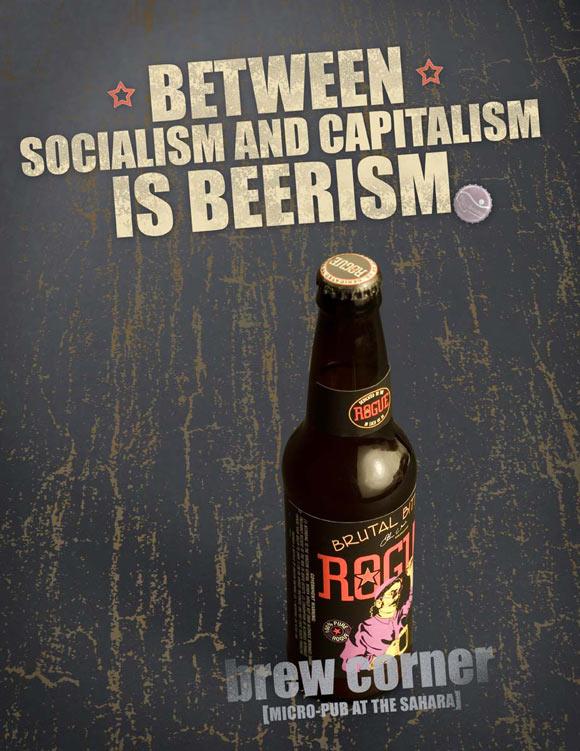Brew Corner at Sahara Casino-Beerism humourous ads beer imaginative funny