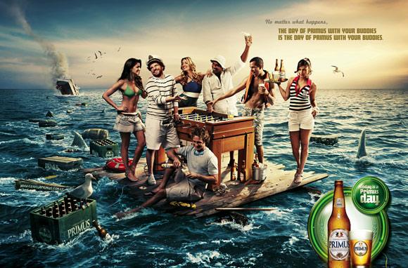 Primus Buddies humourous ads beer imaginative funny