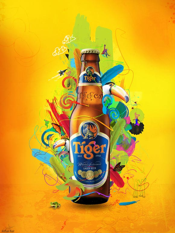 Tiger Beer-Energy funny beer advertisements creative