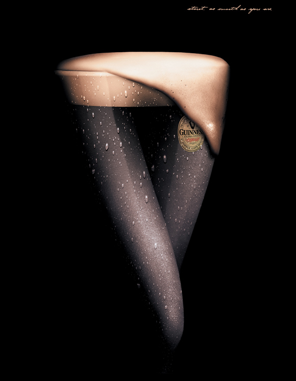 Guiness Legs funny beer advertisements creative