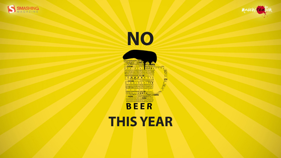 No Beer This Year humourous ads beer imaginative funny