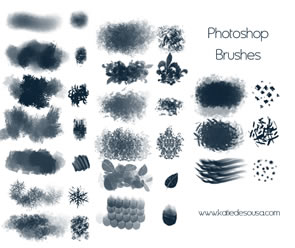 Abstract photoshop brush packs