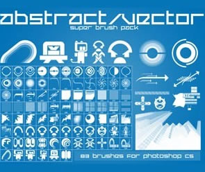 Abstract Vector Brushest Photoshop Brush