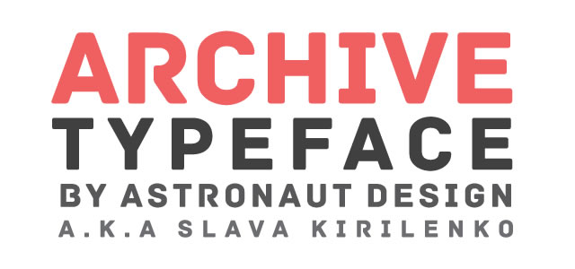 Archive is a Free web print Font for titles and headlines