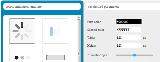 CSS load.net Loading CSS Spinners and Bars Generator