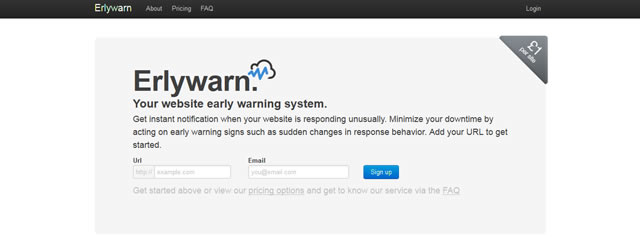 Erlywarn Site Monitoring