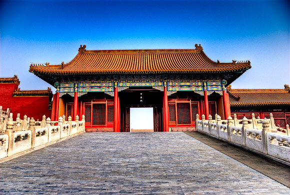 Forbidden City Architectural Photography with an HDR style