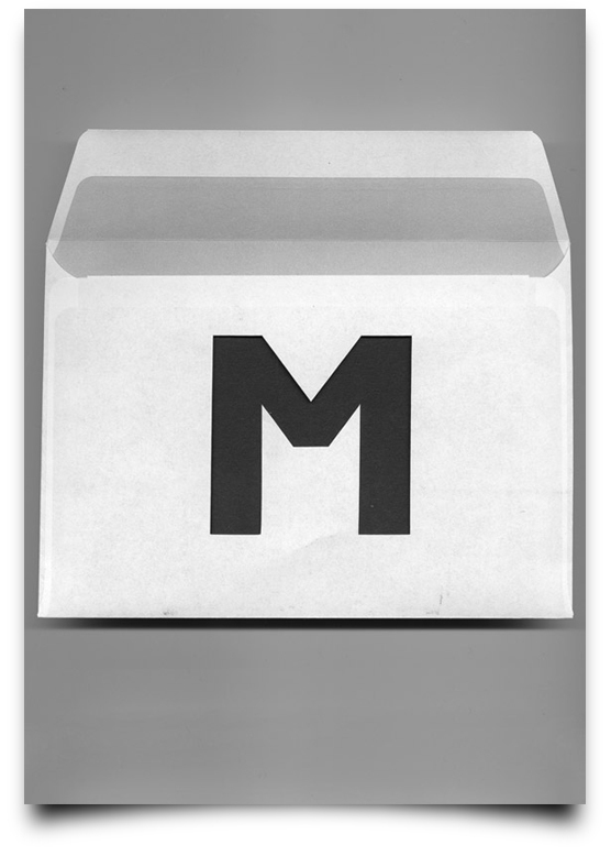 the letter m alphabetical type illustrations simply by putting scalpel to paper