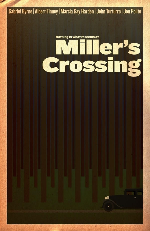 millers crossing Coen Brothers Poster Series
