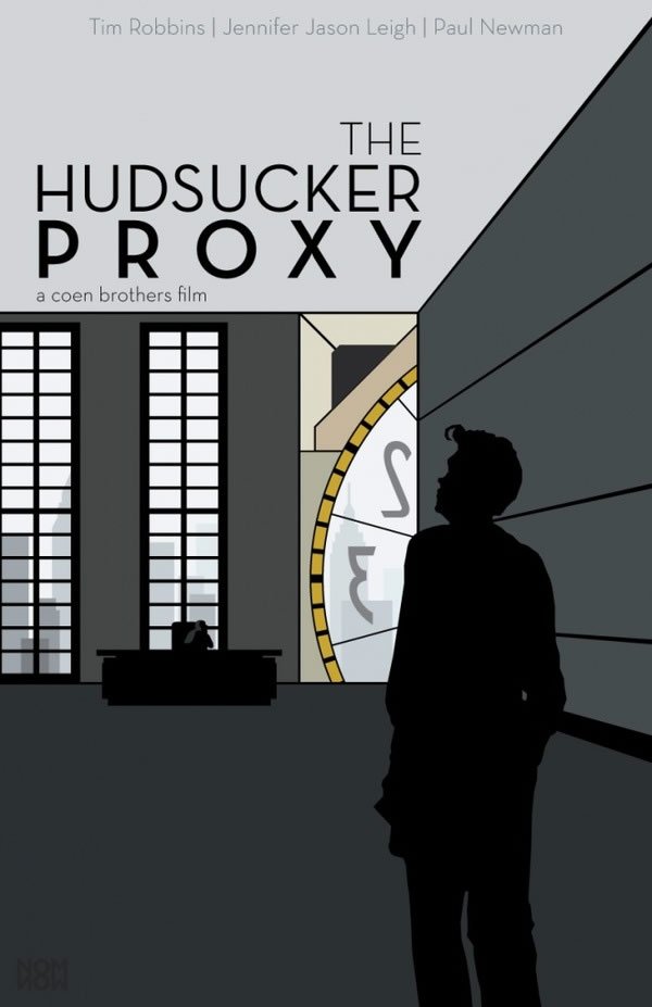 the hudsucker proxy Coen Brothers Poster Series
