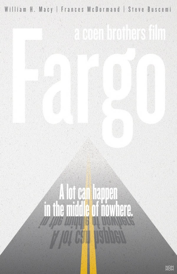 fargo Coen Brothers Poster movie Redux