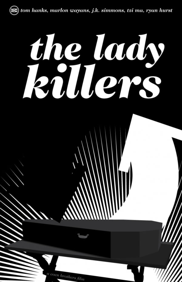 lady killers Coen Brothers Poster Series
